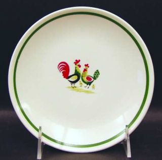 Steubenville Family Affair Bread & Butter Plate, Fine China Dinnerware   Rooster