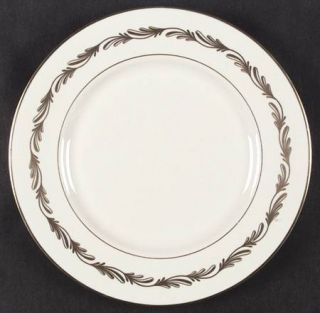 Franciscan Arcadia Gold Dinner Plate, Fine China Dinnerware   Gold Plumes, Gold