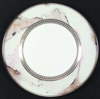 Minton Alabaster & Gold Dinner Plate, Fine China Dinnerware   Gold Laurel Inner