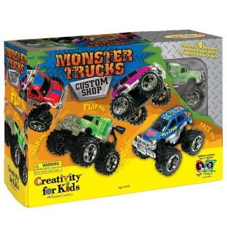 Monster Truck Custom Shop Activity