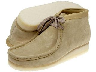 Clarks Wallabee Boot Womens Boots (Tan)