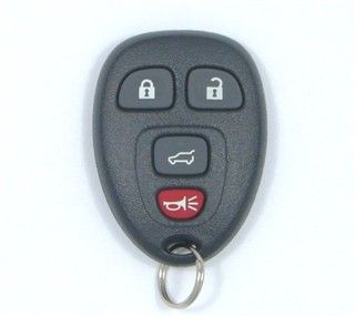 2010 Buick Enclave Remote Rear Glass   Used