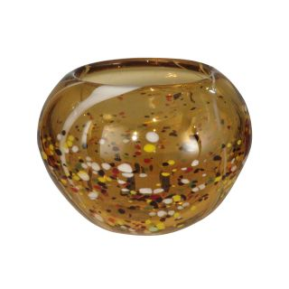 Dale Tiffany Amber Speckle Bowl
