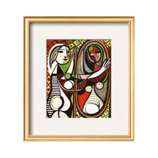 ART Girl Before a Mirror, c.1932 Framed Print Wall Art