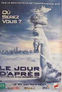 The Day After Tomorrow   Advance B (French Rolled) Movie Poster