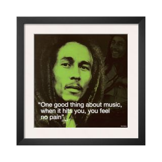 ART Bob Marley Framed Print Wall Art