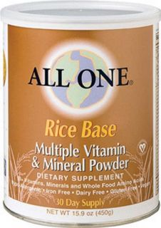 ALL ONE (NUTRI TECH) Nutrient Powder Milk Free Rice Base 30