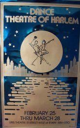Dance Theater of Harlem (Original Broadway Theatre Poster)