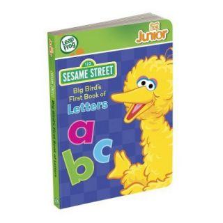 LeapFrog LeapReader Junior Book Sesame Street Big Birds First Book of Letters