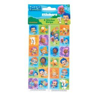Bubble Guppies Sticker Sheets