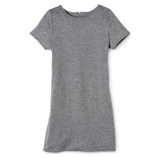 Merona Womens Knit T Shirt Dress   Heather Grey   XS