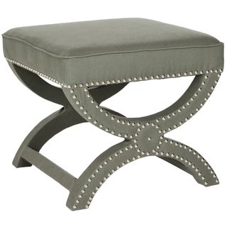 Safavieh Dante X bench Taupe Grey Ottoman