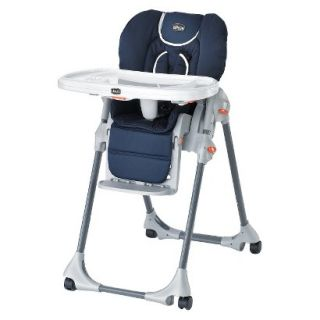 Chicco Blue Polly Double Pad High Chair   Pegaso