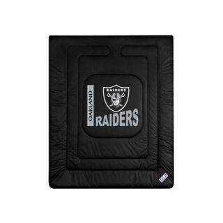 Oakland Raiders Comforter   Full/Queen