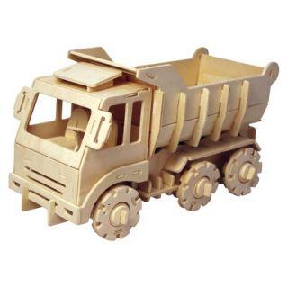 Puzzled Dump Truck   3D