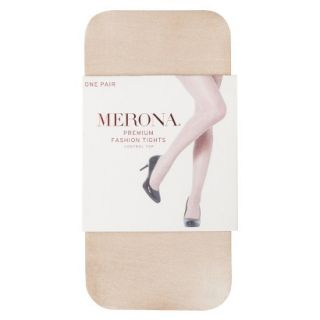 Merona Womens Control Top Sheer Tights   Light Sparkle Nude S/M