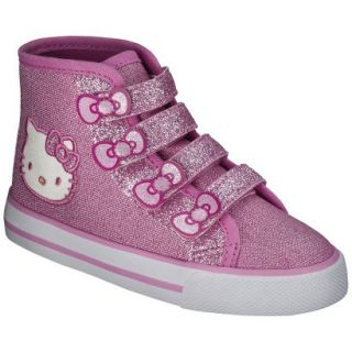Toddler Girls Hello Kitty High Top Sneaker   Pink 8