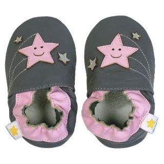 Ministar Infant Girls Shooting Star Shoe   Grey XL