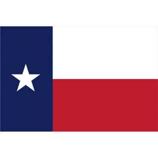 Texas State Flag   3 x 5