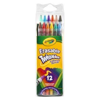 Crayola 12ct Twistable Colored Pencils