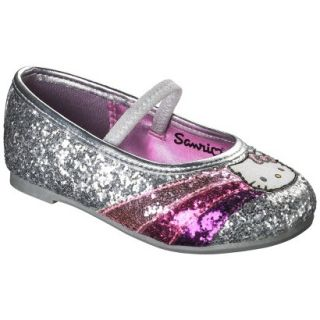 Toddler Girls Hello Kitty Ballet   Silver 5