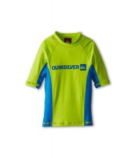 Quiksilver Kids Prime S/S Surf Shirt Boys Swimwear (Yellow)