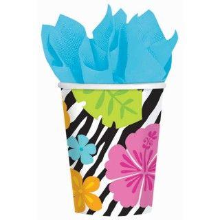 Wild Isle Luau 9 oz. Paper Cups