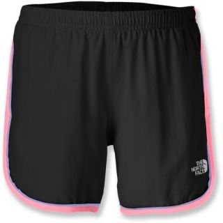 The North Face Velocitee Shorts  Girls,  TNF Black/SUGARY Pink,  XS (6)