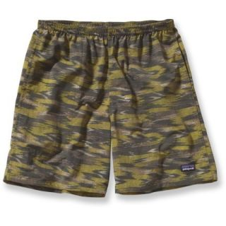 Patagonia Baggies Long Shorts  Mens,  WILLOW HERB Green/KASIH I,  XS