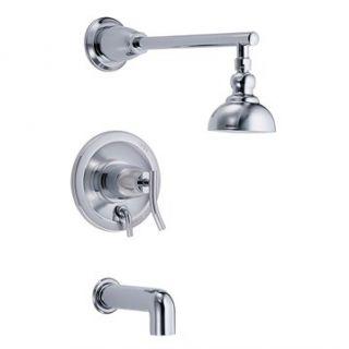 Danze® Sonora™ Single Handle Tub & Shower Faucet Trim Kit with 4 Show