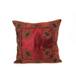 Pillow Décor in Burnt Orange And Wine JRS 03 3248