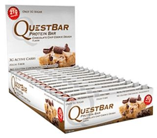 Quest Nutrition   Quest Bar Natural Protein Bar Chocolate Chip Cookie Dough   2.12 oz.