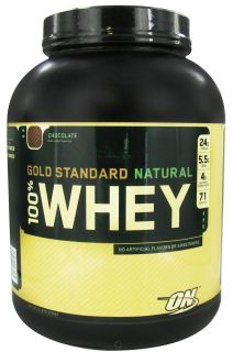 Optimum Nutrition   100% Whey Gold Standard Natural Protein Chocolate   5 lbs.