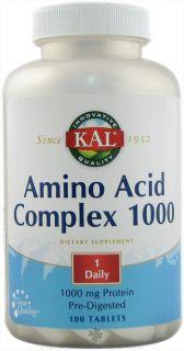 Kal   Amino Acid Complex   100 Tablets