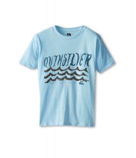 Quiksilver Kids Ride Out Tee Boys T Shirt (Blue)
