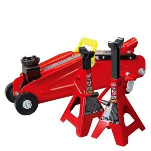 Big Red 2 Ton Trolley Jack with Stands TRA82001