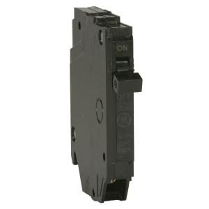 GE Q Line 15 Amp 1/2 in. Single Pole Circuit Breaker THQP115