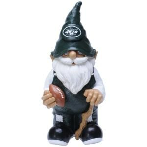 Forever Collectibles 11 1/2 in. New York Jets NFL Licensed Team Garden Gnome Statue 111907