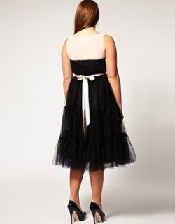 Curve  Vestido de fiesta con falda de tutú de corte amplio exclusivo de CURVE en