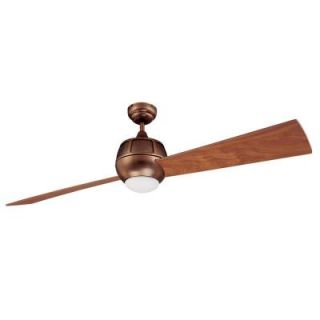 Designers Choice Collection Ova 60 in. Architectural Bronze Ceiling Fan AC17260 ARB