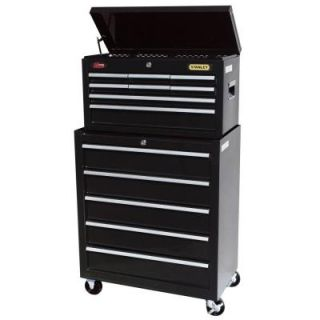 Stanley 13 Drawer Tool Chest and Cabinet Set C 313BS