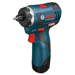 Bosch 12 Volt Max EC Brushless Lithium Ion 1/4 in. Hex Drill/Driver PS22 02