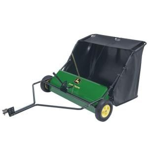 John Deere 42 in. 24 cu. ft. Tow Behind Lawn Sweeper STS 42JD
