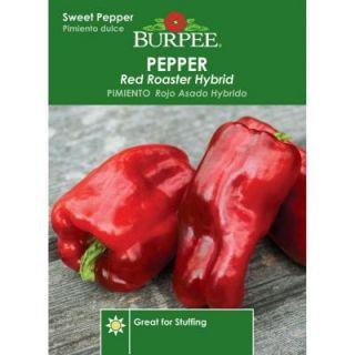 Burpee Pepper Red Roaster Hybrid Seed 69539