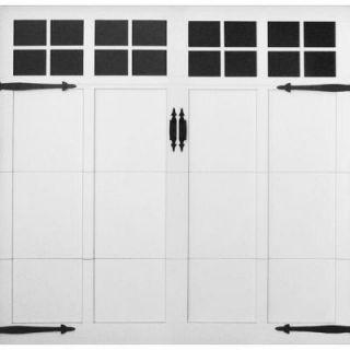Martin Garage Doors David O. Martin Collection Pinnacle Design 63 8 ft. x 7 ft. Aluminum White Insulation Clear Acrylic Window Garage Door HDIY 000413