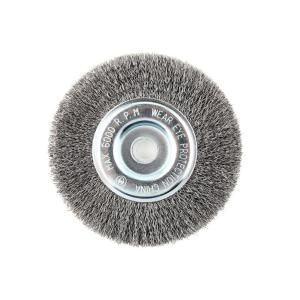 Lincoln Electric 6 in. x 5/8 in. Crimped Wire Wheel Brush KH320