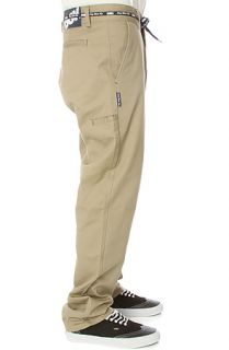 DGK Pants Working Man 2 Chino in Khaki