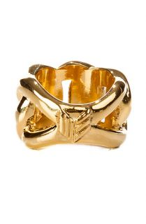 Melody Ehsani Ring Cuban Link in Gold
