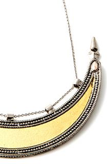 House of Harlow 1960 Necklace Queen of the Night in Silver.
