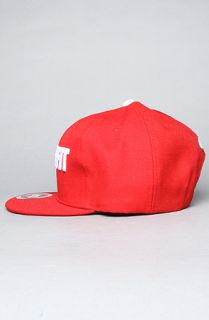 TRUKFIT The Trukfit Original Snapback Cap in Red